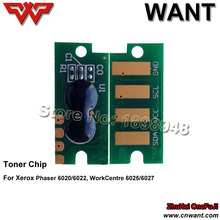 106R02759 106R02756 106R02757 106R02758 toner cartridge chip compatible For xerox Phaser 6020/6022,WC6025/6027 color toner chip