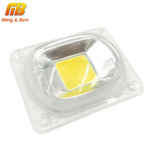 [MingBen] 1set LED COB Chip with Lens Reflector 50W 30W 20W 230V 110V Smart IC  DIY For LED Floodlight Need Heatsink for Cooling