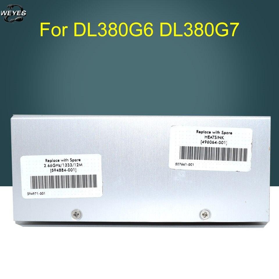Processor Heatsink Cooler 496064-001 594884-001 469886-001 for Proliant DL380G6 G7 DL388 well tested<br>