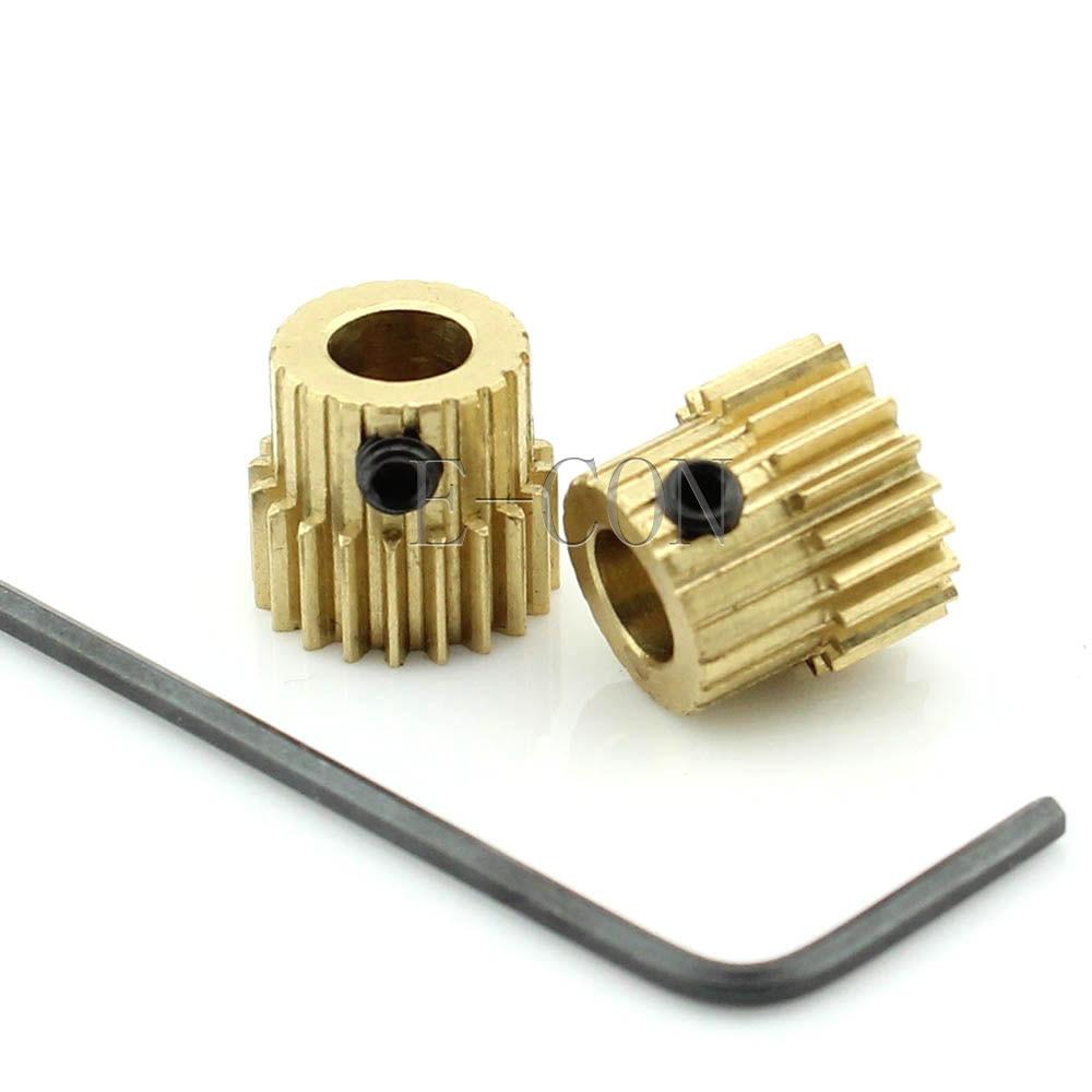 5mm Bore Hole 60 Teeth 60T Module 0.5 Motor Metal Gear Wheel with Top Screws