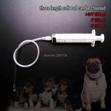 1set Soft Flexible Canine Dog Goat Sheep Bird Artificial Insemination AI Breed Feed Whelp Kid Kit Catheter 3 Length Rod(China)