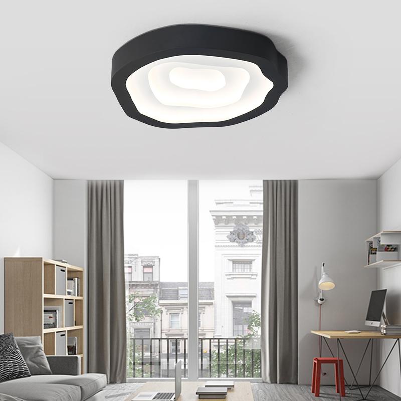 GroBartig Oberflächenmontage Moderne Intelligente LED Deckenleuchte Wohnzimmer  Schlafzimmer Badezimmer Küche Dimmbare Fernbedienung Kinder Zimmer  Dekoration