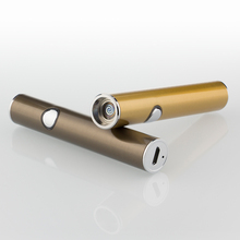 New Mini Cigarette Lighter Windproof USB Electronic Lighter Metal Lighter Best Smoking Lighter with Gift Box