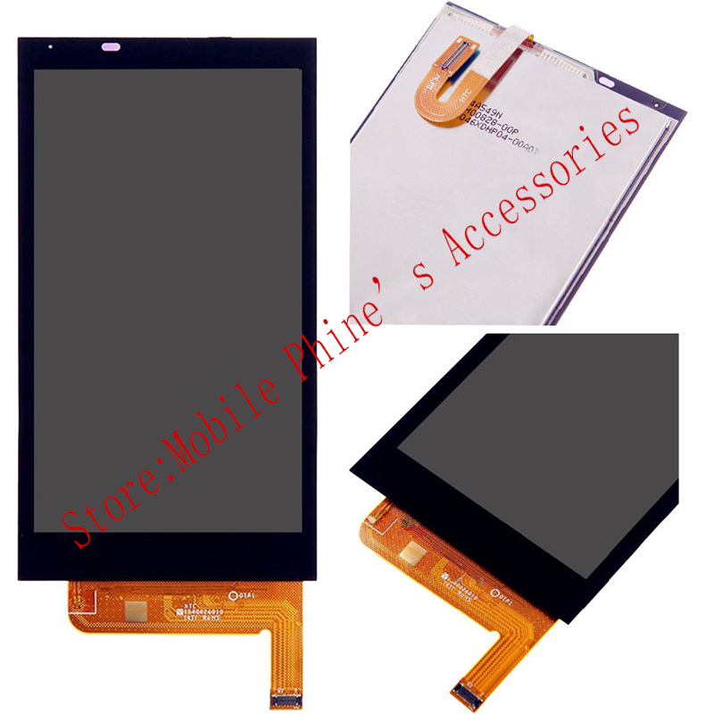 OEM 100% Test LCD Display Touch Screen Digitizer Glass Assembly For HTC Desire 610 D610n Black With Free Tools<br><br>Aliexpress