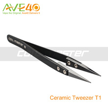 Coil master Ceramic Tweezers for Electronic Cigarette Portable Box to Storge