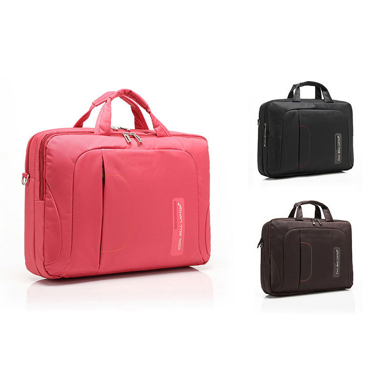 Anti Shock Proof Women Messenger Bags in Pink, 15.6 inch fashion laptop case for travel and trolley, Protective Pink Laptop Bag<br><br>Aliexpress