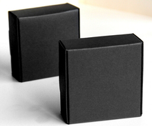 18 sizes Small Black gift Cardboard Box cardboard Packaging box black Paper packaging Gift carton cardboard paper box