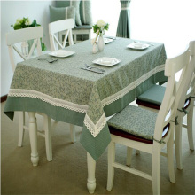 Pastoral style 2 patterns green colors dinning table cloth coffee tablecloth 1 pc /lot