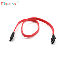 Mosunx advanced  38cm Serial ATA SATA 2 Cable Lead Hard Drive Data  Red 2017 hot sales tablets 1PC