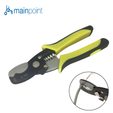 "Mainpoint New Two-color Handle Multi Tool 8"" Wire Stripper Cable Cutting Scissor Stripping Pliers Cutter 1.6-4.0mm Hand Tools"