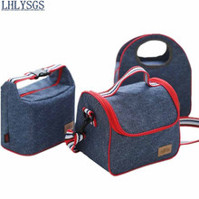 LHLYSGS Brand Keep Fresh Insulated Cooler Bags Women Travel Portable Frozen Lunch Bag Hand Carry Thickened Tin Foil Picnic Bag