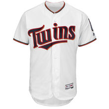 MLB Minnesota Twins Baseball Home White Flex Base Authentic Collection Team Jersey(China)