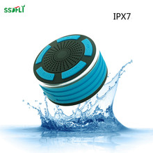 LED Breath Light Speaker ipx7 waterproof Bluetooth Speaker Radio Features Outdoor Shock and Dust Dust & Water Proof Speaker(China)