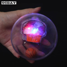 Mini LED Flash Music Handheld Basketball Toys Shoot Device Basket Game Reduce Pressure Fidget Toy Christmas Gifts For Children