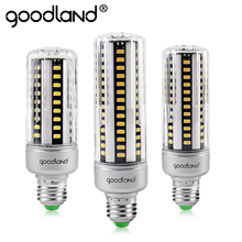 Goodland LED Lamp E27 110V 220V LED Bulb Light 5W 7W 9W 12W 15W 18W 20W LED Corn Bulb No Flicker Lampada SMD 5736 Home Decorated