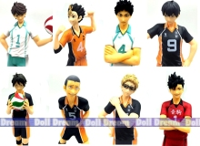 14-17cm original high quality Japanese anime figure haikyuu action figure kids toys for girls(China)