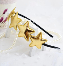 baby girl glitter star headband korean hair head bands accessories for girls children kids hair ornaments hoop hairband sequins(China)