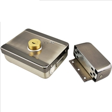 Intelligent electric lock spiritual lock access control motor lock mute mechanical lock