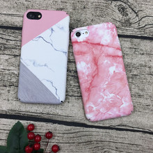 cover For Iphone 6 6s 6 Plus 4.7 5.5inch case coque fundas geometric Marble designs Shell skin Hard case for iphone 7 7plus(China)