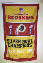 Washington Redskins Super Bowl Champions Outdoor Indoo American Football Team Flag 3X5FT Drop Shipping Custom Club Sport Flag