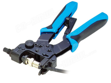 Free shipping coaxial waterproof 3 in 1 carbon steel Compression Tool F RCA BNC Crimping Tool