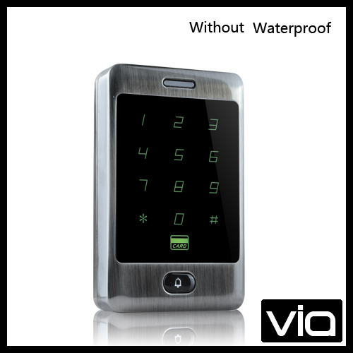 C30 ID+Without Waterproof Free Shipping RFID door access Control standalone touch keypad password 5 Color available<br>