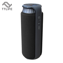 TTLIFE NFC Bluetooth Speakers 4000mAh Wireless 3D Stereo Super Bass Sound Waterproof IPX4 Handsfree with Mic HiFi Touch Altavoz