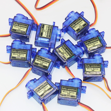 10pcs/lot lofty ambition SG90 9g Mini Micro Servo for RC for RC 250 450 Helicopter Airplane Car Drop Free Shippping(China)