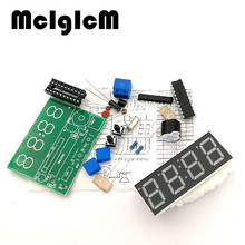 86032  free shipping High Quality 1pcs C51 4 Bits Electronic Clock Electronic Production Suite DIY Kits new