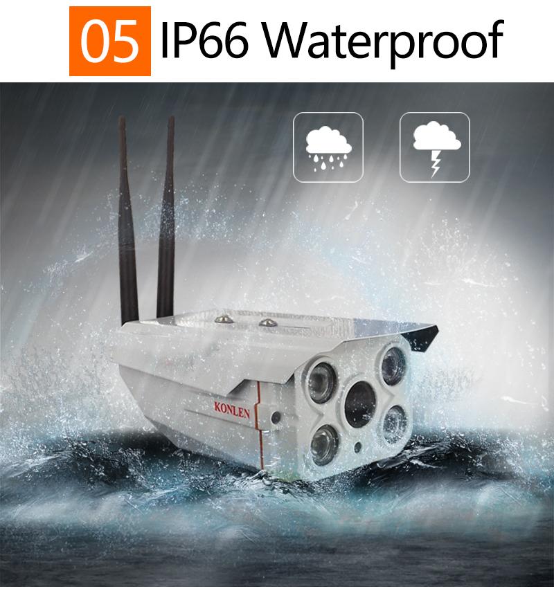 Outdoor Waterproof IP camera Zoom 08