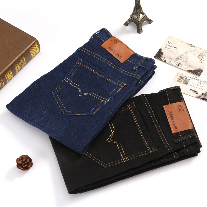 2018 autumn new jeans men