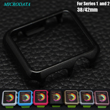 MicroData 42mm 38mm Ultra Thin Protection Skin Cover Case shell 7 Colors For Apple Watch Case series 1 2 With Retail Package(China)