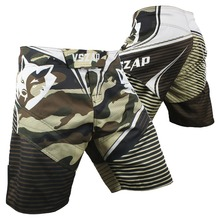 VSZAP MMA Boxing Motion Clothing Cotton Loose Size Training Kickboxing Shorts Muay Thai Shorts Cheap MMA Shorts Boxeo Mens Short(China)