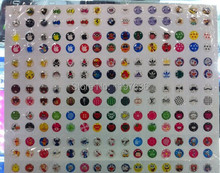 Big discount 330pcs Mobile Phone Stickers HOME button sticker for iphon 4 4s 5 5s 6 Plus for ipod mutil design