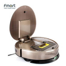 Fmart Vacuum Cleaners Wet and Dry 1000Pa 750ml Dust Box Wet Clean Sweep Suction UV Sterilize LED Touch Robot Vacuum CleanerYZ-V2