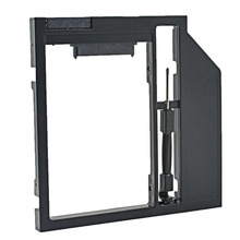 "High Quality Plastic SATA 3.0 2nd HDD Caddy 9.5mm for 2.5"" SSD Case Hard Disk Enclosure for Notebook CD-ROM Optical Bay"