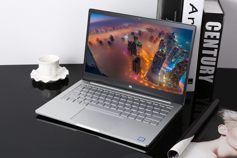 Original Xiaomi Mi Notebook Air 13.3inch Display Intel Core i5-6200U CPU 8GB DDR4 RAM Intel GPU Laptop Windows 10 SATA SSD