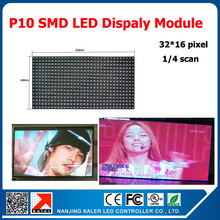 TEEHO 10mm Indoor SMD rgb led display module 320*160mm 32*16 pixel p10 led module indoor led video display p10 led panel(China)
