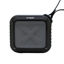 W-King Speaker Portable Wireless Bluetooth Speaker FM Radio 3W Waterproof for phone bicycle NFC Shower Speakers Bluetooth(Hong Kong)