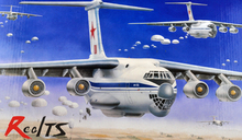 RealTS trumpeter model 03901 1/144 IL-76 Transport  plastic model kit