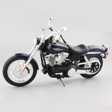 Maisto 1:12 scale kids Harley 2006 FXDBI DYNA street bob die casting model motorbike motorcycle car metal miniature toys for boy(China)