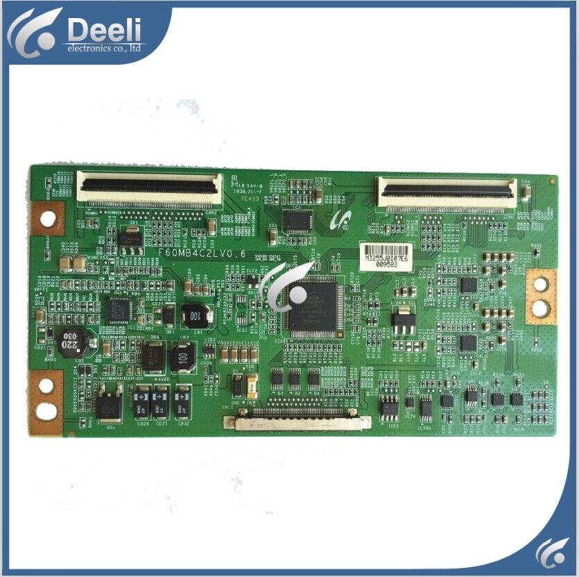 good Working original used for LA40C550J1F LA32C530F1R  LA46C550J1F F60MB4C2LV0.6 Logic board<br>