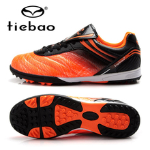 TIEBAO Professional Botas De Futbol Soccer Cleats Athletic Training Sneakers Football Shoes TF Turf Soles Boots Free Shipping