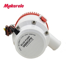 MKBP-G3000-12/24 3000GPH water pump battery powered bilge pump 12/24v from china factory with marine,motor homes(China)