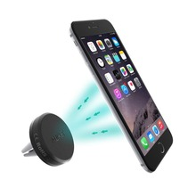 Aukey Car Mount, Reinforced Magnetic Cradle-less Car Air Vent Mount Smartphone Holder Cradle for iPhone 6, 6S, Samsung S6