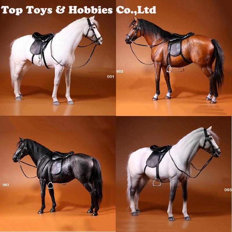 Hanoverian Animal Hannover horse Grey Blanck white Model Horse Figurine