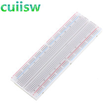 1pcs NEW MB-102 MB102 Breadboard 830 Point Solderless PCB Bread Board Test Develop DIY(China)
