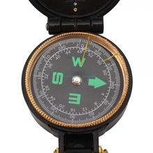 Ship From USA Military Hiking Camping Lensatic Lens Compass Black