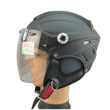 new ABS open face motorcycle helmet summer half face helmet with shield and pad can removable mens women vespa helmet