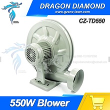 550W Blower Exhaust Fan 220V Centrifugal Blower Low Noise For Laser Engraving Cutting Machine & CNC Router